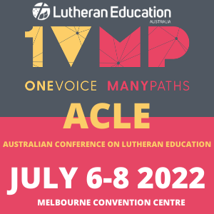 Copy of AUSTRALIAN CONFERENCE ON LUTHERAN EDUCATION